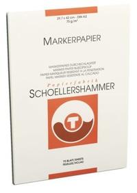 Schoellershammer Markerblok A3 75 gram Wit (75 vel)