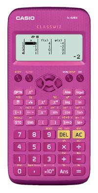 Casio rekenmachine FX-82EX roze
