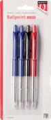 Balpen Quantore diverse kleuren 4 stuks