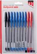 Balpen Quantore 3 kleuren 10 stuks